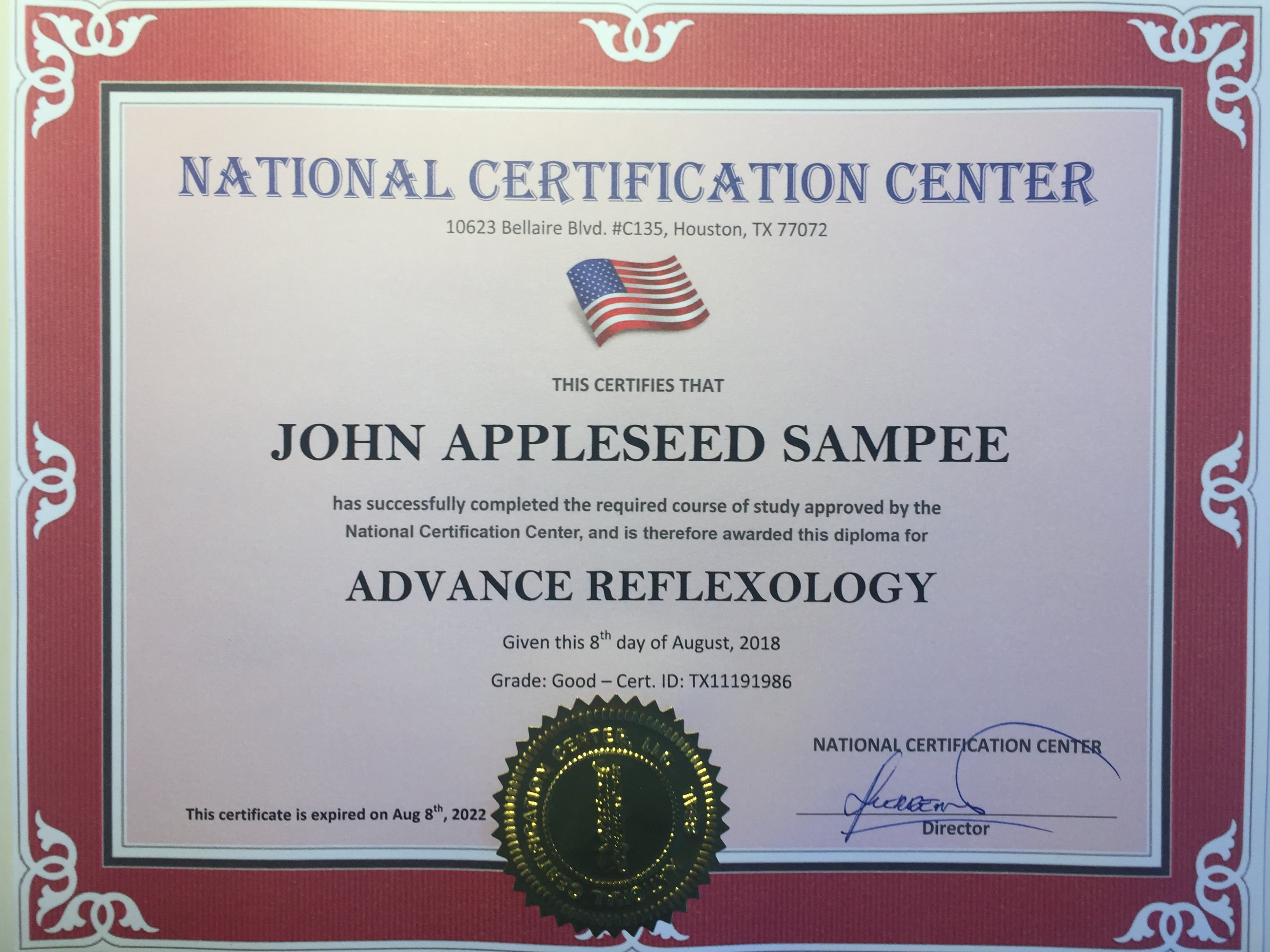National Certification Center